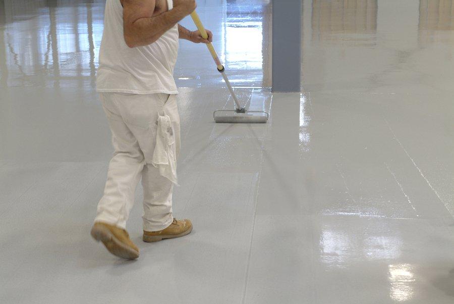 Epoxy Flooring Cleveland - Rollpaint