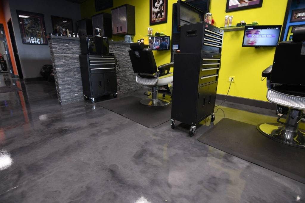 Epoxy Flooring Cleveland - Metallic Epoxy Floor 1