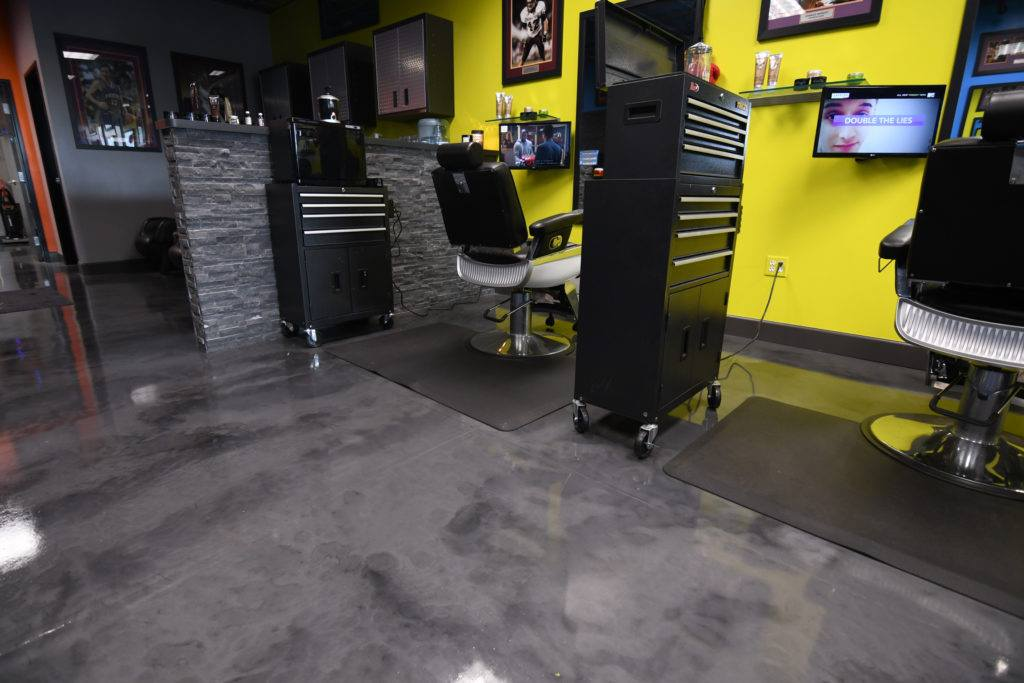 Cleveland Metallic Epoxy Floor