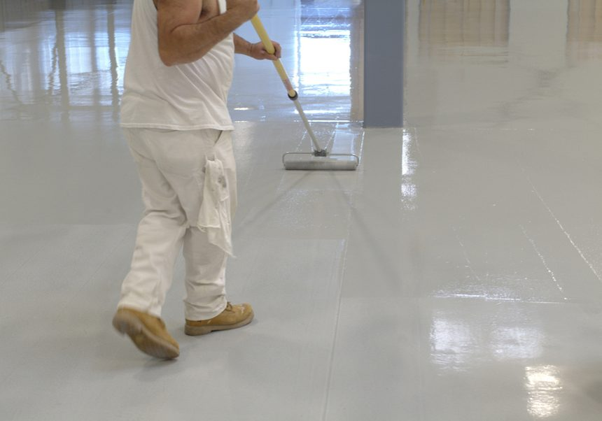 Epoxy Flooring Cleveland - Rollpaint
